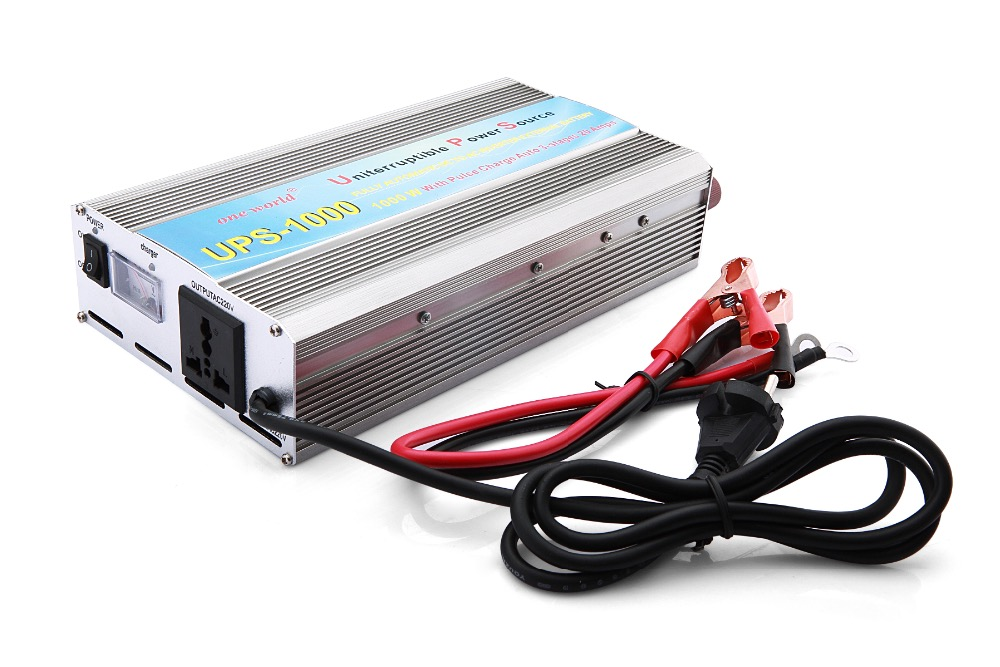 Intelligent P1000c 1000w High Power Car Power Inverter Dc12v To Ac110v Solar Inverter Es Wechselrichter
