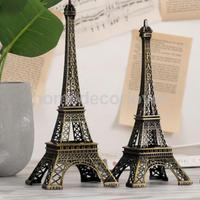 2018 Trendy Paris Eiffel Tower Figurine Statue Model Decorative Ornament Cake Topper Decor, Home Table Centerpiece