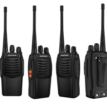 Baofeng BF-C1 портативная рация 16CH двухстороннее радио Woki Toki UHF портативное радио 5 Вт фонарик PMR трансивер