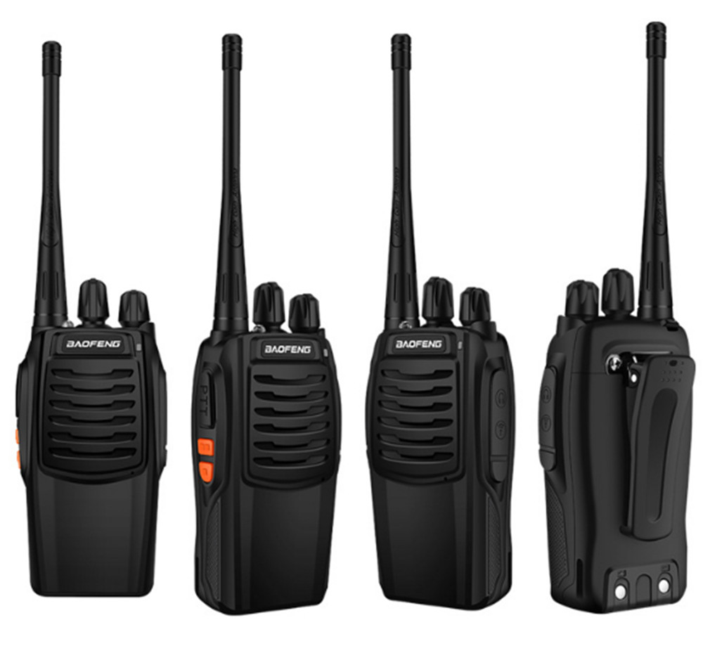 100% Original Baofeng BF-C1 Walkie Talkie 16CH Two Way Radio Woki Toki UHF  Portable Ham Radio 5W Flashlight  PMR Transceiver