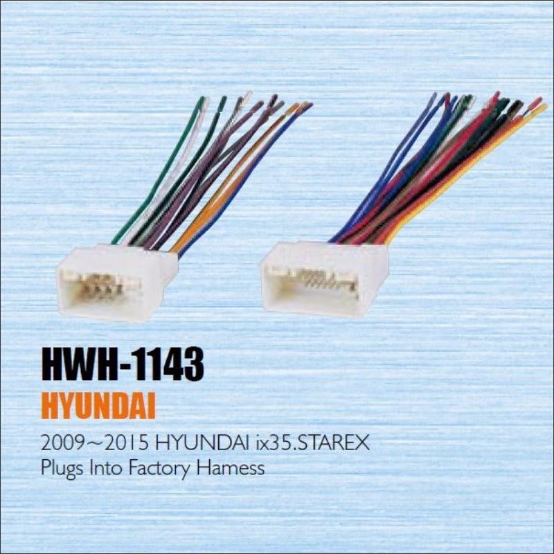 popular hyundai radio wiring buy cheap hyundai radio wiring lots plugs into factory harness for hyundai ix35 2009~2015 radio power wire adapter