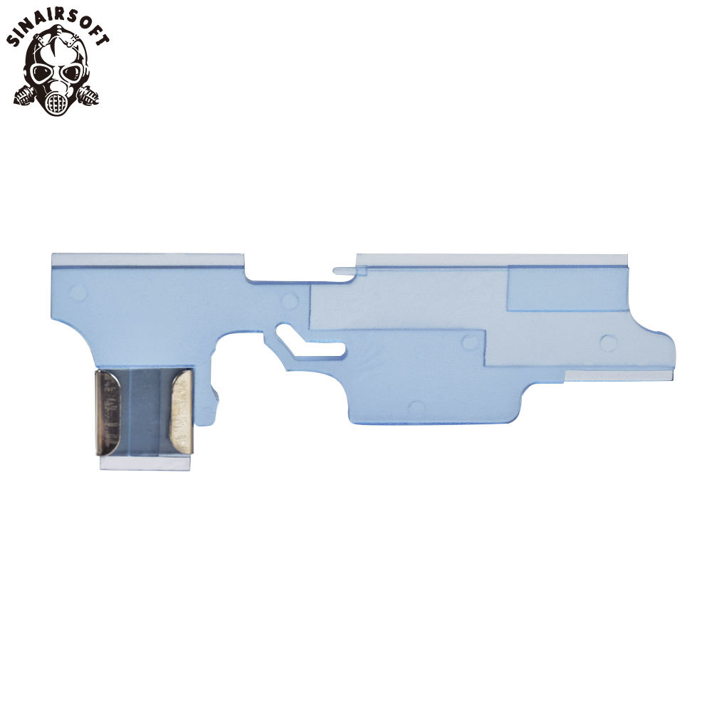 SHS High Quality Transparent Anti-Heat Selector Plate For G3 Series Airsoft AEG Hunting Accessories