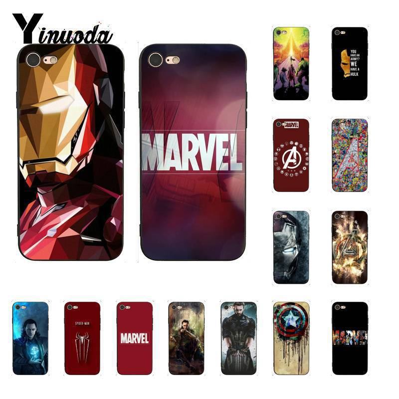 Half-wrapped Case Phone Bags & Cases Yinuoda Marvel Dc Super Hero Doctor Stained Glass Colorful Cute Phone Case For Iphone 8 7 6 6s Plus 5 5s Se Xr X Xs Max Shell