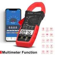 HoldPeak Digital Clamp Meter HP-570C-APP 1000A AC/DC Strom Spannung Kapazität Temperatur Multimeter Verbinden zu Telefon Tester