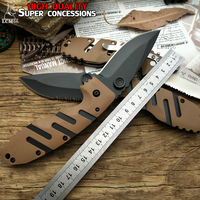 LCM66 Tactical Folding Knife Cold Steel ABS Handle Camping Outdoor Survival Knives Hunting Tools Very Sharp