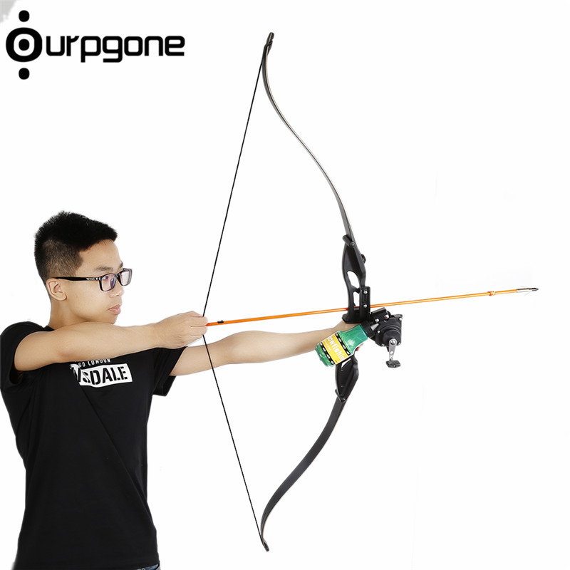Ourpgone Outdoor Recurve Bow Fishing Spincast Reel For Compound Bow And Recurve Bow Shooting Tool Fish Hunting Bow Fishing