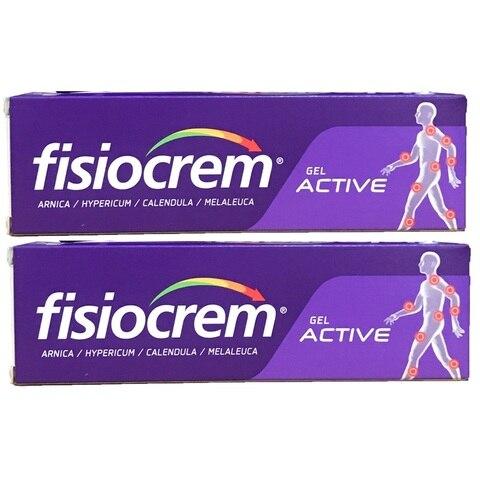 2 pcs espanha fisiocrem dores musculares e articulacoes alivio da dor massagem gel solucao para