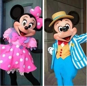 High Quality Mouse Mascot Mouse Mascot Costumes Cartoon Apparel EVA Helmet Unisex Cartoon Apparel Cosplay