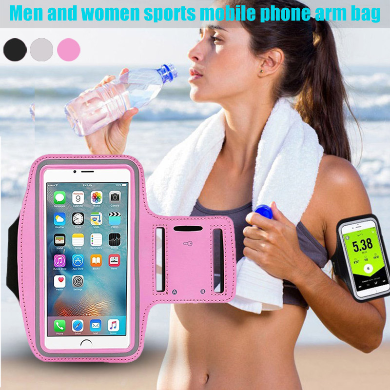 NEW  Arm Bag Pack Armband Package Holder Outdoor Running Cycling Sports Breathable For Mobile Phone