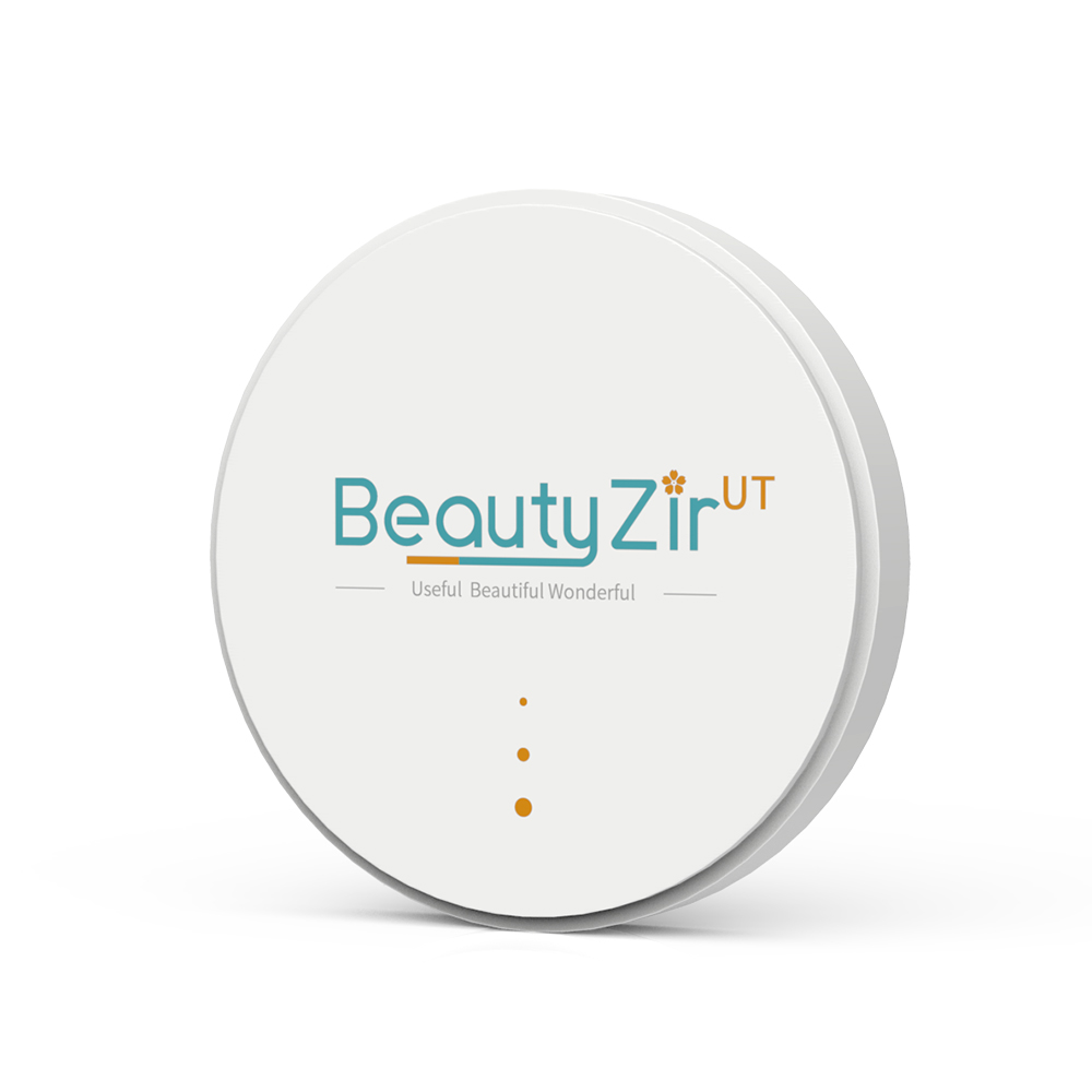 Bloc de zircone de fraisage dentaire 49% ultra Transparent pour dents antérieures/placage