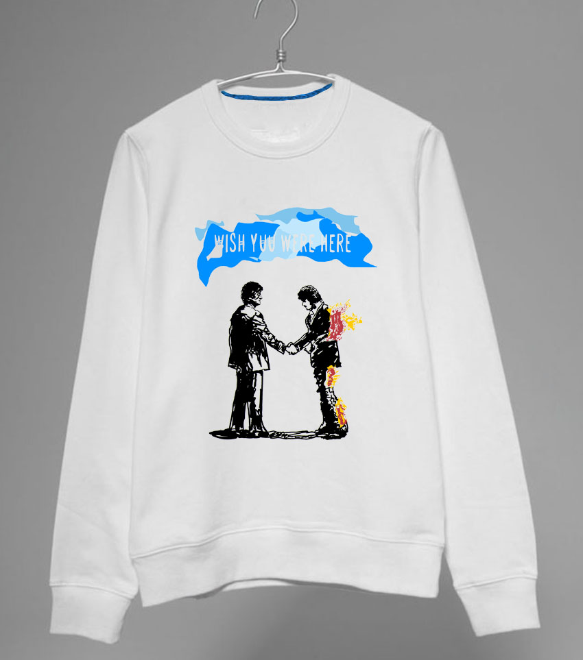 Google themes pink floyd - Pink Floyd Wish You Were Here Theme Orginal Design Men Women S Sweatshirts No Cap Hoodies