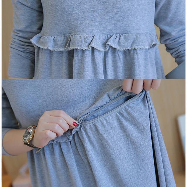 Long Maternity Dress