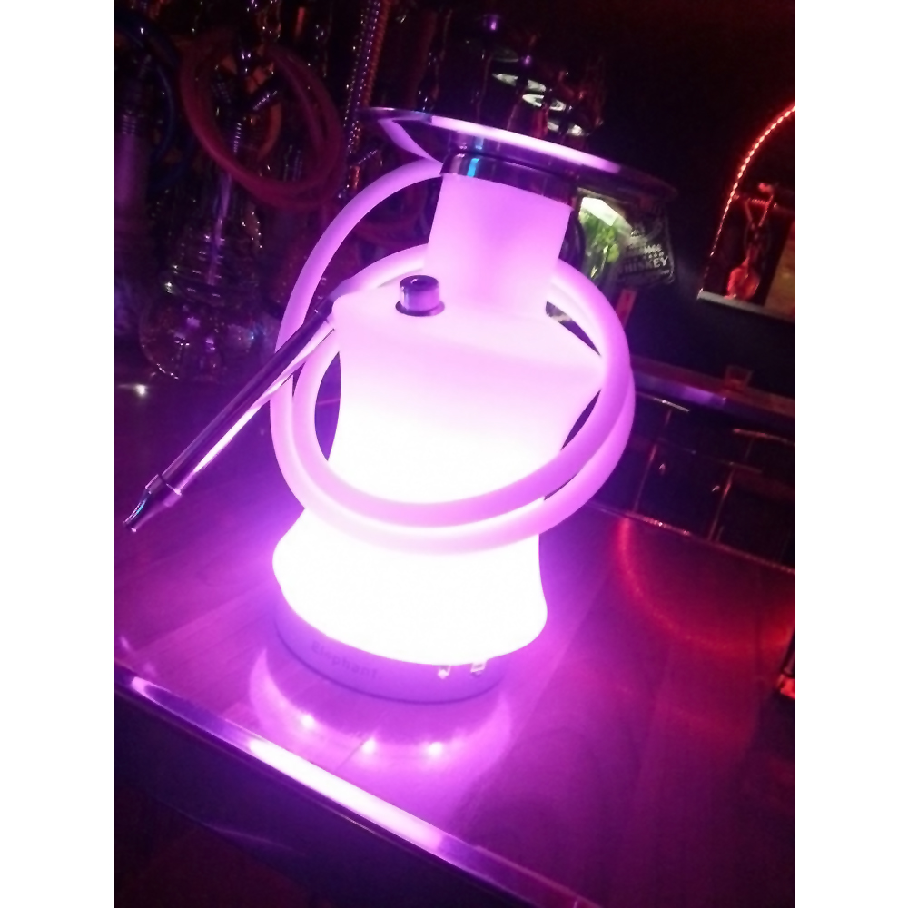 6inch AA battery operated led light base for furniture under wedding ...
