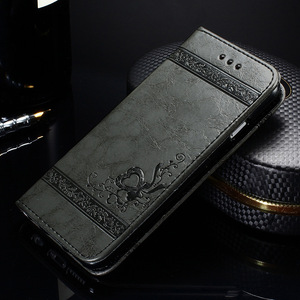 Image 4 - 10 pièces cuir Flip portefeuille coque de téléphone pour i7 i8 résistant à la saleté PU silicone couverture téléphone sac étuis pour iphone