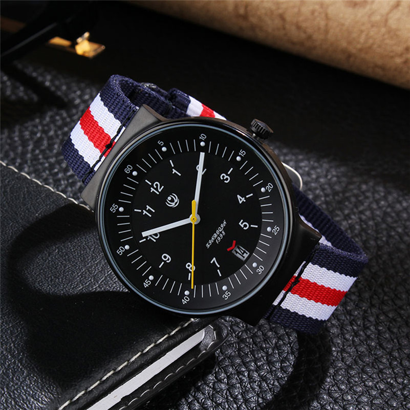 ФОТО XINBOQIN Women Men Watches Military Army Top Brand Luxury Sports Casual Waterproof Male Clock Nylon Strap Military Quartz Watch