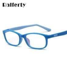 4565aaf120 Ralferty gafas marco Flexible TR90 de silicona niños gafas dioptrías óptica gafas  marcos O802