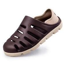 Nuevo Diseño de los hombres Transpirable zapatos Sandalias de Tacón Plano 2017 del Verano Sandalias Casuales Hombres Sandalias de Playa Zapatillas de moda