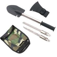 freeshipping Four in one  multifunctional kit shovel mountain axe  military (1set=1pc Shovel+1pc saw+1pc axe+1pc blade)