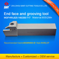 Grooving tool holder CNC turning tools MGFHL625 140 200 T17 with Korloy inserts MGMN600 M selling hot in abroad