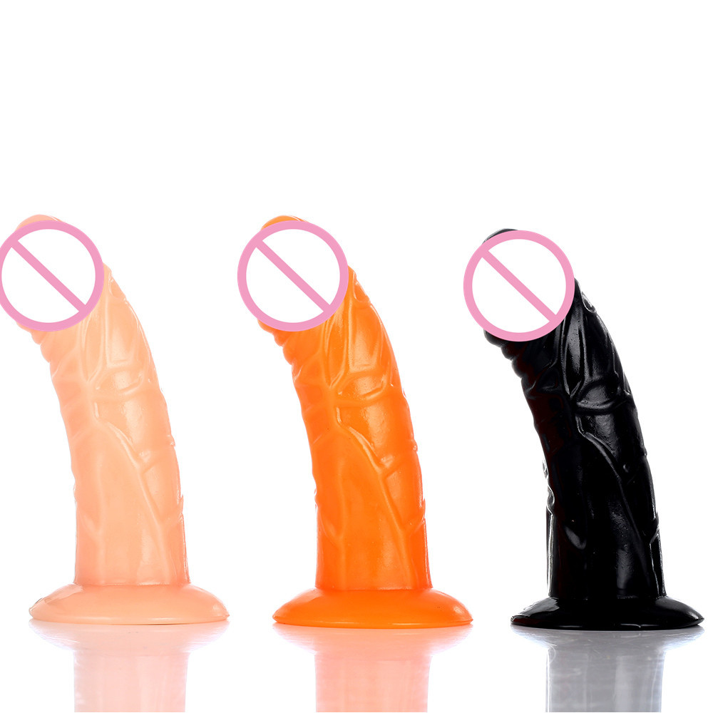 2019 New lesbian Strapon anal dildo realistic bent sucking penis suction cup dildo pants Sex Product adult sex toys for woman in Dildos from Beauty Health