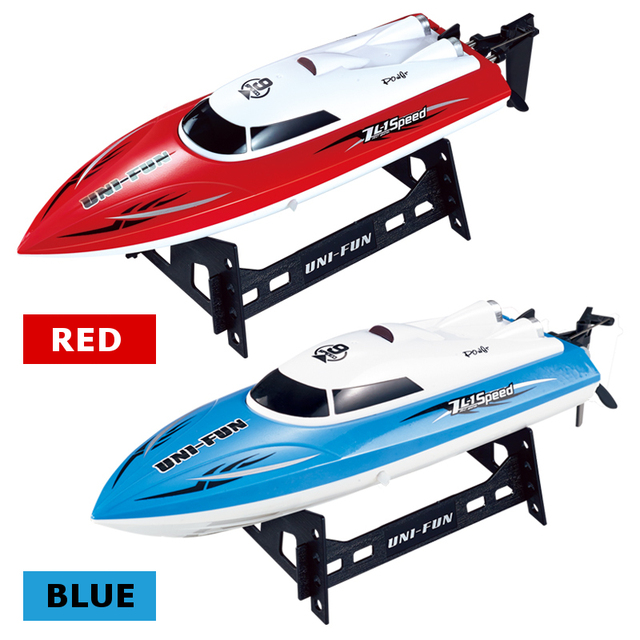 HuanQi 960 2.4G RC Racing Barco 25 km/h Barco Lancha Yate lanchas Juguete de Control Remoto Niños Diversión Eléctrico A Prueba de agua regalo