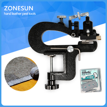 2017 NEW High quality Manual leather skiver Leather Paring Machine Leather splitter vegetable tanned leather peeler