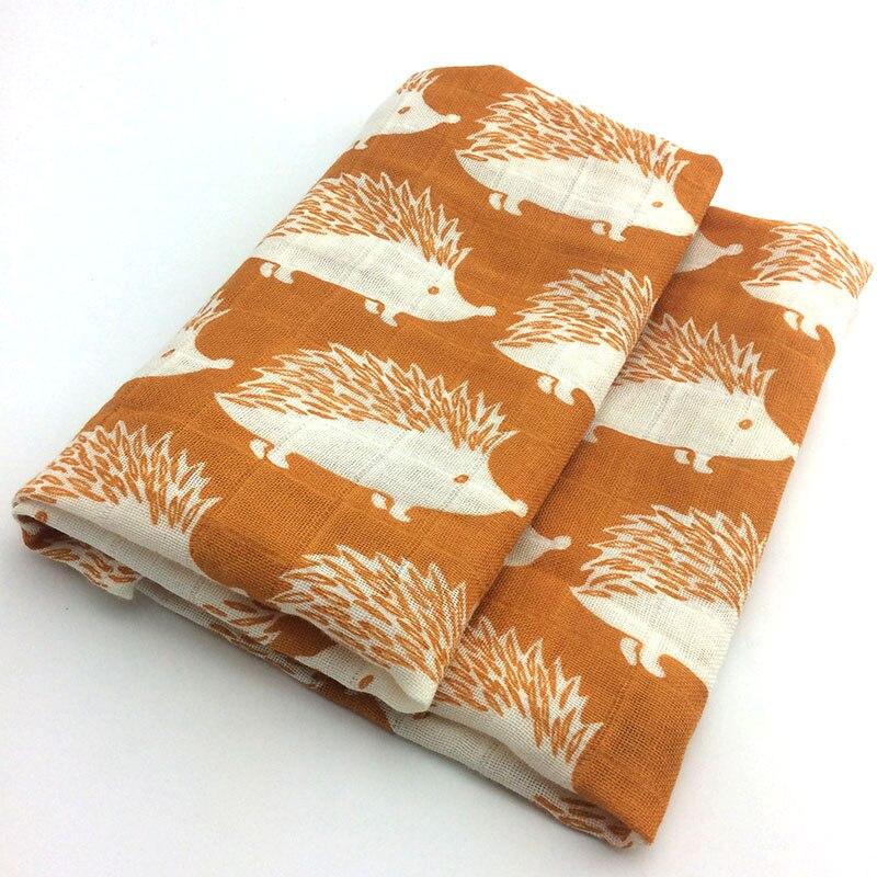Новинка; хлопковое детское одеяло для новорожденных; мягкое детское одеяло из органического хлопка; муслиновое Пеленальное Одеяло для кормления; тканевое полотенце; шарф; детские вещи - Цвет: 11