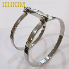 Xukim Jewelry Latest Design Silver Plated Double Ring Loop 316L Stainless Steel Bangle Bracelet