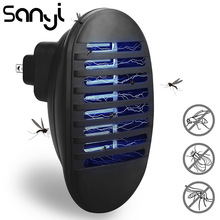 SANYI  Mosquito Killer Lamp Indoor Insect Killer Electronic Repeller LED Night Light Household Eliminates Most Flying Pests