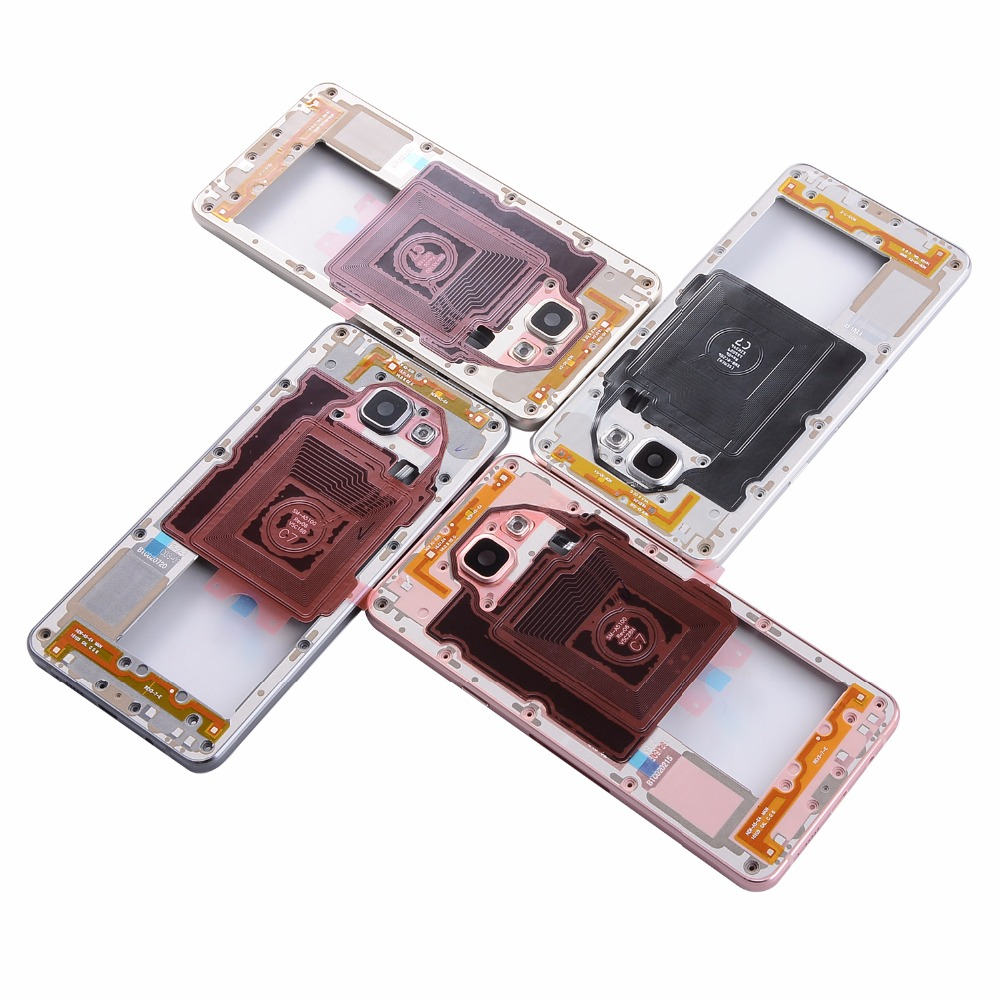 For Samsung A5 2016 A510 A510F Housing Metal Middle Frame Single card version
