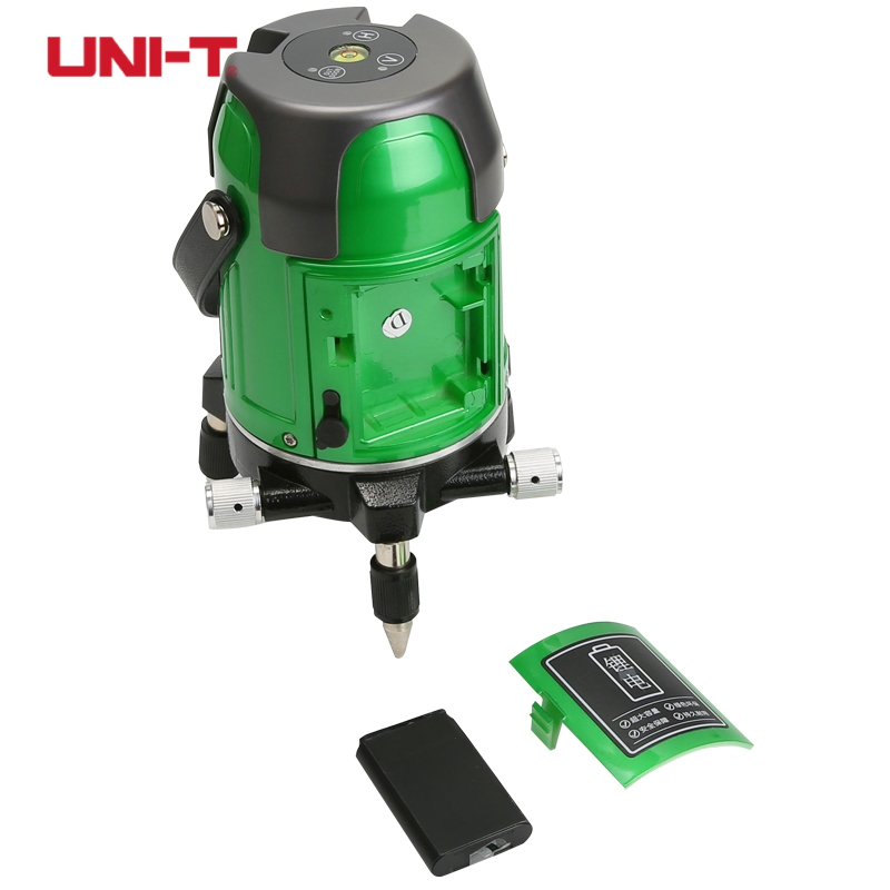 UNI-T LM550 Red Laser level LM550G Green Laser Level 5 Lines 360 Degree Self Nivel Laser Horizontal Vertical kapro laser level laser angle meter investment line instrument 90 degree laser vertical scribe 20 meters