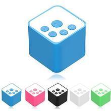 лучшая цена Portable Cubic Outdoor Stereo Wireless Mini Speaker TF Card FM Radio MP3 Player HOT