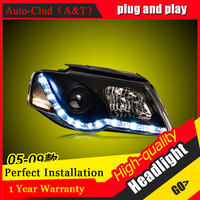 Auto Clud Car Styling For VW Passat Headlights 2005 2009 For Passat Head Lamp Led DRL