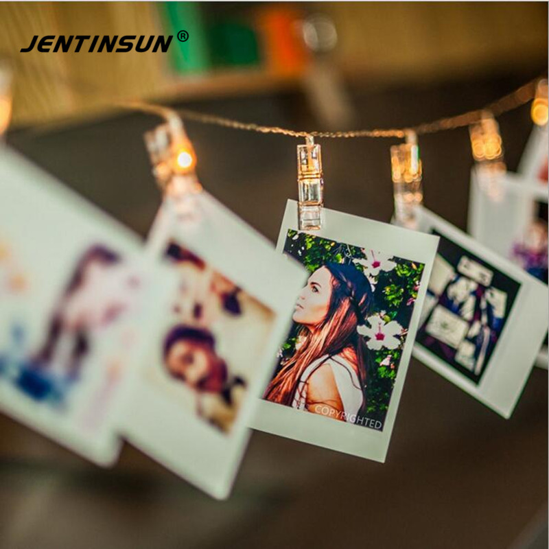 Novelty Lantern Hanging Photo Clip LED Strip Light Indoor Postcard Decorative Lights Battery Lighting Strips for Wedding Party