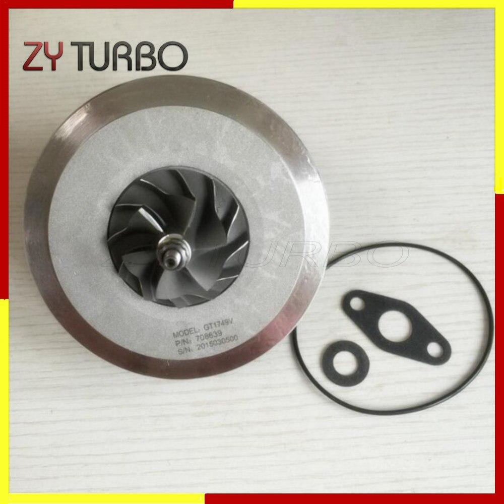 Turbocharger Rebuild Chra Gt1749V 708639 708639-5011S Turbo Cartridge Core for Nissan Primera 1.9 dci 88Kw Turbo Kit 14411-AW301  цены