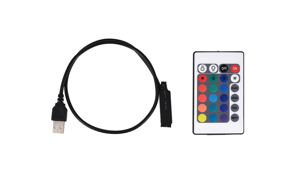 Tiras de Led tira 5050 smd picada fita Tipos : Usb Led Strip 5050 Rgb tv Background