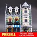 DHL LEPIN 2462 Unids Creadores de Edificios Modulares 15008 Verdulería Ladrillos Kits para chilren regalo