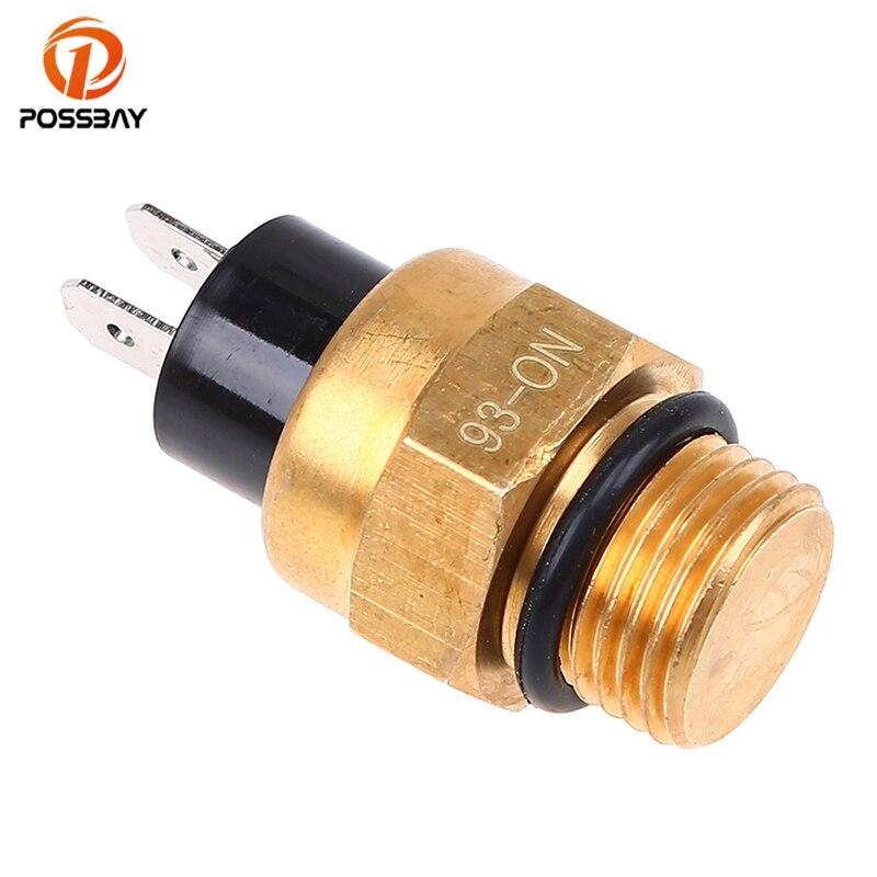 POSSBAY M16/16mm Motorrad Kühler Lüfter Thermo Schalter Sensor für Benelli Cafe Racer Motorrad Zubehör