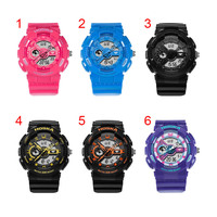 Fashion Student Kids Girls Boys Sport Watch Digital LED Backlight Waterproof Electronic Wristwatch Gifts High Quality