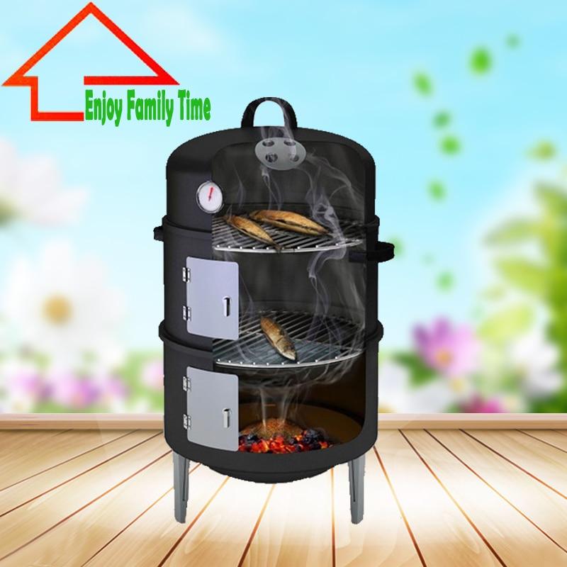 Aliexpress.com : Buy New Design 17Inch Smoker BBQ Grill ... on Exterior Grill Design id=30899