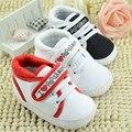 2016 Nueva Caliente Amo Mamá Y Papá Del Bebé Lovely Baby Shoes Girl Calzado Inferior Suave Zapatos de Bebé Recién Nacido Envío Libre
