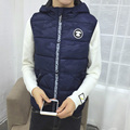 M-5XL 2016 winter fashion gilet men vest bodywarmer mens warm vest men chalecos hombre sin mangas doudoune sans manche homme