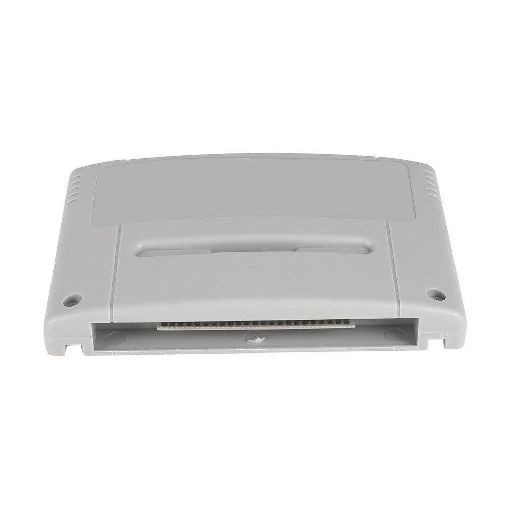 Onleny 16 peu Super Jamais Flash Jeu Lecteur Flash Cartouche Jeu Vidéo Console Jeu Flash Carte Plug & Play pour SNES Jeu Carte - 2
