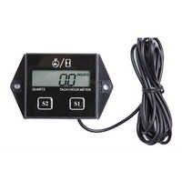Affichage LCD tachymètre RPM Tacho Tach jauge Spin tachymètre numérique moteur Tach heure mètre pour voiture bateau moto