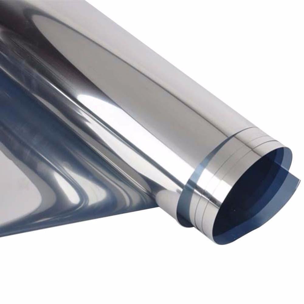 0.Окна здания 9X10M оттенков домашнего наклейки пленки коммерческих серебро светоотражающие пленки