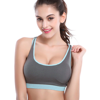 B BANG Summer Style Sports Bra For Women Fitness Running Intimate Push Up Brassiere Tank Top