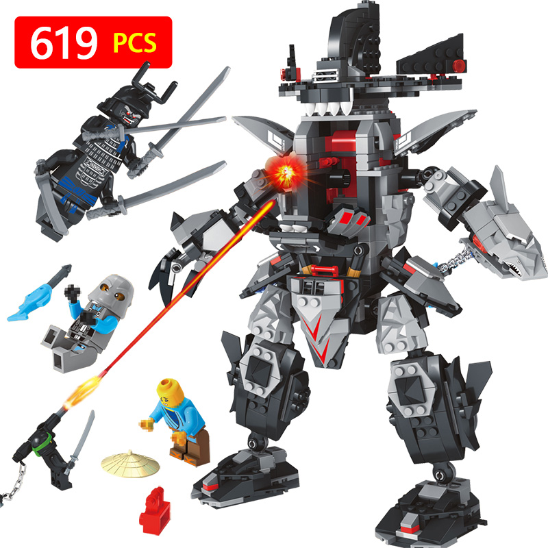 Ninjagoed Garma Mecha Man 70613 Model Anime action figures Building Blocks Bricks Toys for children Compatible with LegoINGLYS 12pcs set children kids toys gift mini figures toys little pet animal cat dog lps action figures