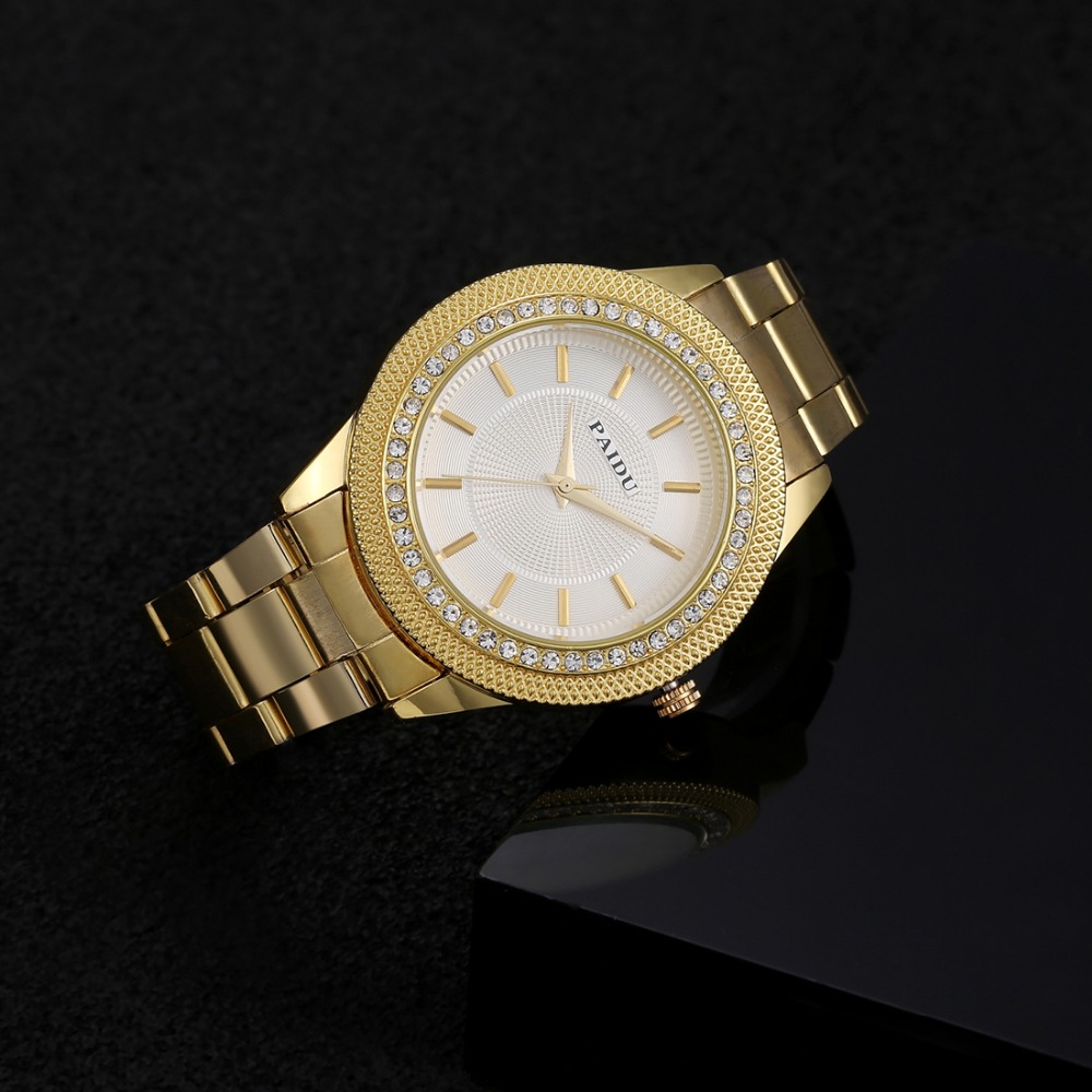 Paidu Luxury Rhinestone Watch Women Watches Full Steel Women's Watches Ladies Watch Clock relogio feminino reloj mujer kol saati sinobi ceramic watch women watches luxury women s watches week date ladies watch clock montre femme relogio feminino reloj mujer