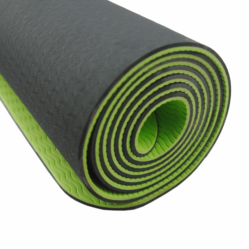 Yoga Mat Yoga Sports Exercise Gym Fitness Mat For Fitness Acupressure Mat Yoga Mat 6mm Bag