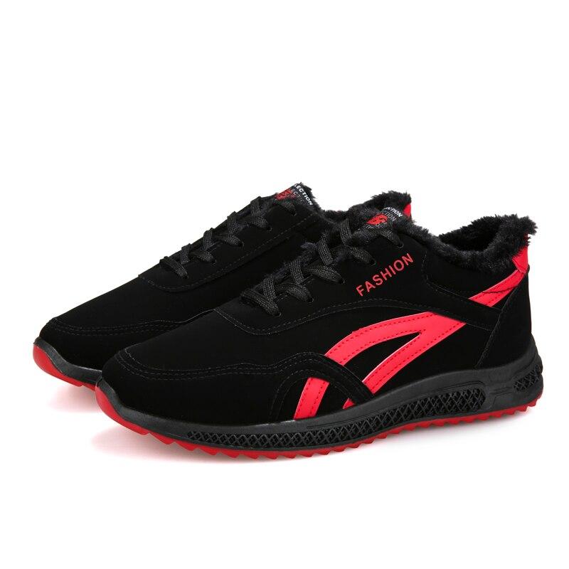 White De Peluche En Sport Black Chaudes Hommes Shangfandeng Mode Hombre Red black Chaussures Bottes Botas Super Cheville Zapatos IxfSgZ